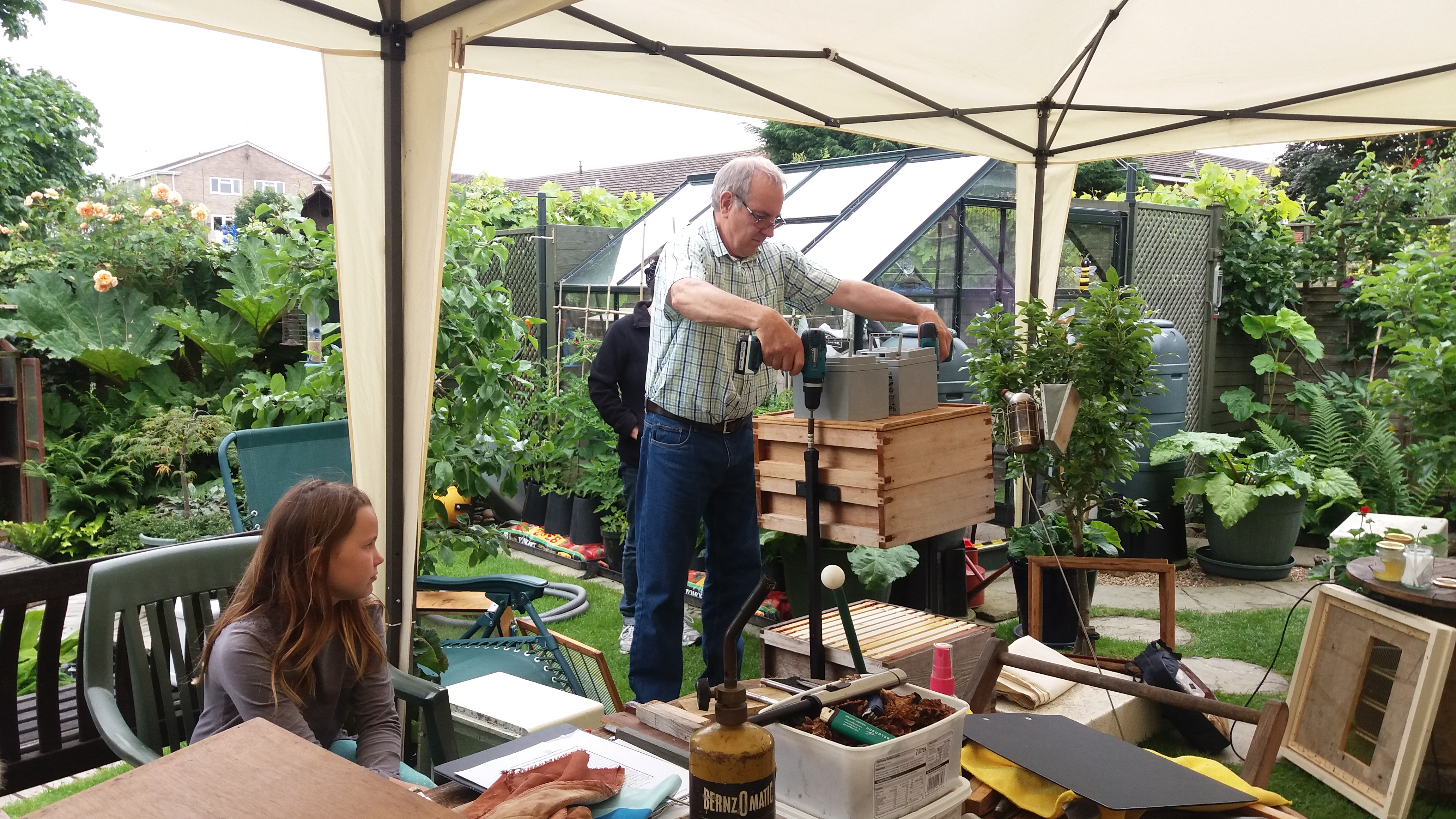 Open Day A Small Back Garden Apiary Stratford And